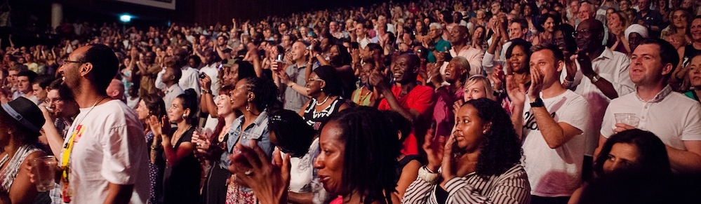 Image: Jazz Jamaica Audience at Royal Festival Hall 2013