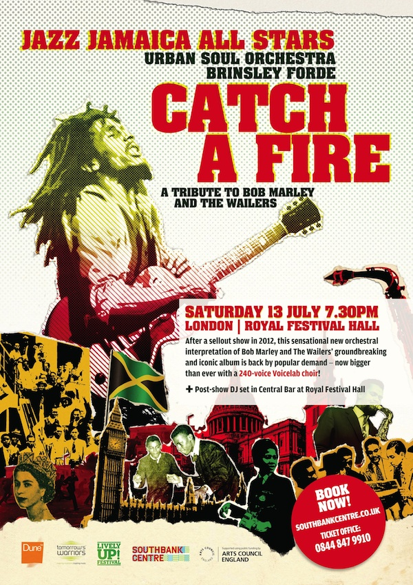 Catch A Fire flyer July 2013