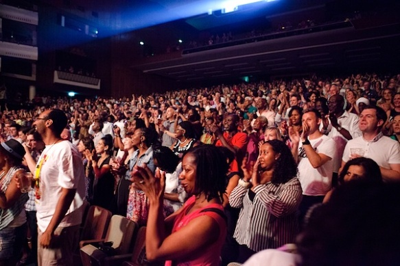 Catch A Fire - Jazz Jamaica All Stars sold out Royal Festival Hall - July 2013