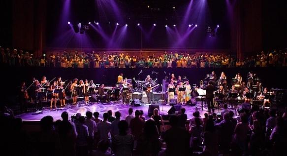 Jazz Jamaica All Stars, Urban Soul Orchestra & Brinsley Forde & Voicelab Choir @ Royal Festival Hall, London - July 2013