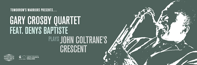 Gary Crosby 4tet play Coltrane's Crescent