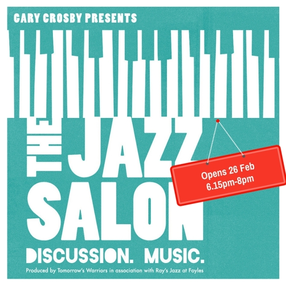 The Jazz Salon opens 26 Feb